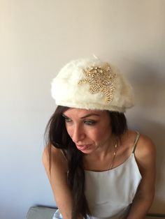 Bride Beanies by HELIXSIS on Etsy