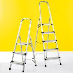 Polder 3 5 Step Aluminum Folding Ladders