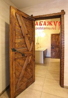 Деревянные двери от торговой марки Абажур 8900р.