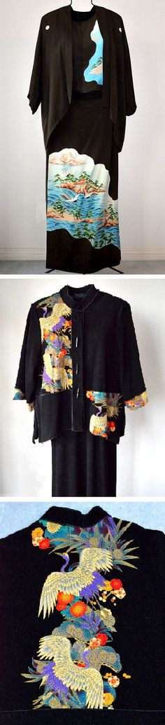 """066. Esther Kodama: """"Inherited kimonos was the source. Being Japanese-American meant I would never wear as is. So was the birth of Now and Zen (the old and new)-restyled kimono ware.  My hope is that these wearable art pieces will become heirlooms that can be enjoyed by generations   to come. I am so grateful my kimono wear creations has led to a designing job where I can create Asian inspired woman's wear from 'chirimen' rayon-acetate fabric from Japan."""" www.nowandzenclothing.com"""