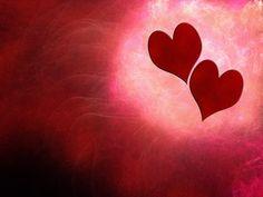 Zwei Herzen als Symbol für Liebe und Partnerschaft