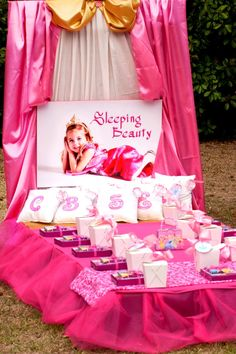 Birthday Party for a Princess