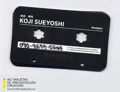 tarjetas de presentacion creativas para musicos