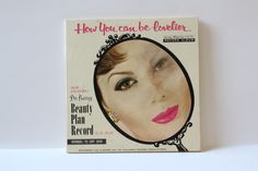BEAUTY PLAN RECORD, Vintage Du Barry Beauty Plan, How you can be lovlier, makeup application guide, vintage beauty routine guide record by TheJellyJar on Etsy