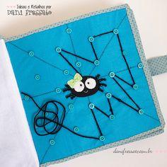 Resultado de imagem para moldes de arañas para quiet book