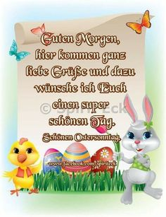 Pin by birgit crews on ostern und pfingsten Easter Bunny Pictures, Happy Easter, Easter Eggs, Mickey Mouse, Cute Animals, Humor, Words, Coraline, Yoga