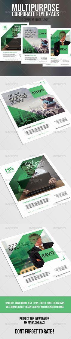 Multipurpose Corporate Flyer/Ads
