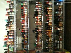 [KBartonRealtorR] @Kimberly Barton > Hot sauce collection in Sammy's Deli, Historic Annapolis.
