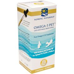Nordic Naturals - Pet - Omega-3 - Promotes Optimal Pet Health and Wellness >>> Click image to review more details.