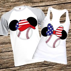 Disney Minnie Mouse /& Mickey Mouse Guitar Applique Youth Girls Tee Shirt