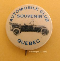 Quebec Automobile Club Pin - 1070