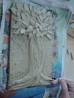 Once upon an Art Room: Clay Tree