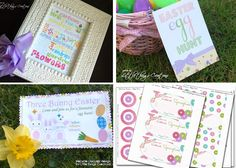 *Free printable*-Easter Egg Hunt Sign!