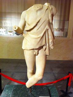 Sátiro de Montemayor en el museo de Vlia. Siglo II d. C.