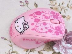 hello kitty wireless optical mouse - $19.99