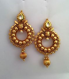 Saree Jewellery India Jewelry Gold Antique Jewelery Necklace