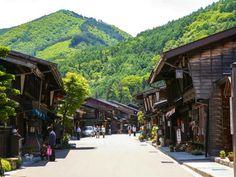Japan self guided walking holiday, Nakasendo Trail