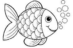 Balık Boyama Sayfası - En Yeniler En İyiler