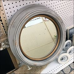 Necessity is obviously the mother of invention in this Asymmetric Flip Front Hook Mirror Holder solution for JoAnn Fabric and Crafts. Retail Merchandising, Joann Fabrics, Joanns Fabric And Crafts, Flipping, Inventions, Close Up, Mirrors, Hooks, Retail