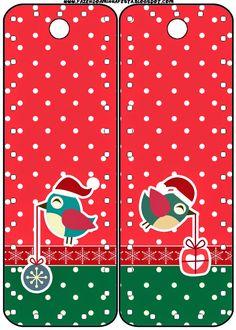 Pajaritos de Navidad: Imprimibles Gratis para Fiestas.