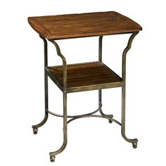 Hekman Rue De Bac Metal Base Side Table HK-87216