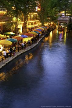 Lol the spot I fell in the water.  River Walk in San Antonio. Texas