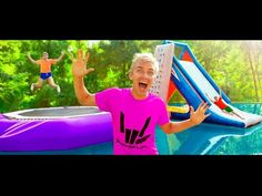 Check out the official reveal of Stephen Sharer Jump In Music Video Original Song! This new Sharer song is the best family friendly sing along song of the su. New Lambo, Zip Line Backyard, Sing Along Songs, Creative Food Art, Wedding Renewal Vows, Cool Paper Crafts, Secret Location, Harry Potter Jokes, Classic Songs