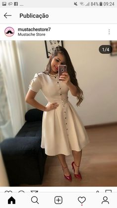Chic summer Wwomens outfits ideas for charming style summer fashion trendy outfits 2019 Modest Fashion, Hijab Fashion, Fashion Dresses, Beautiful Casual Dresses, Pretty Dresses, Belted Dress, The Dress, Modest Dresses, Dresses For Work