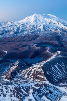 Mt Ruapehu, Central Plateau, North Island, New Zealand