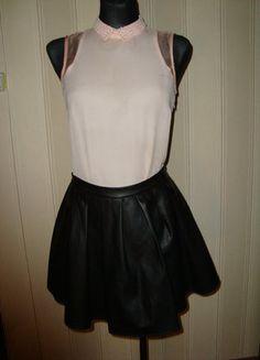 #spodniczka #skora #rozkloszowanaspodniczka #skorzanaspodniczka #sinsay #rozmiar36 #wyprzedazszafy #sprzedam #wymienie #elegancka #dowszystkiego