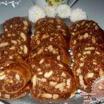 Ostyalapos kekszszalámi Beef, Health, Ethnic Recipes, Food, Meat, Health Care, Essen, Meals, Yemek