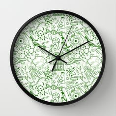 #school #junior #highschool #backtoschool #teacher #chemical #formation #chemicalformula #molecule #mathematics #geek #science #giftideas #wallclock available in different #homedecor products. Check more at society6.com/julianarw