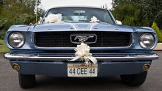 Ford Mustang wedding car+ selection vintage cars + ma colline + www.ma-colline.com