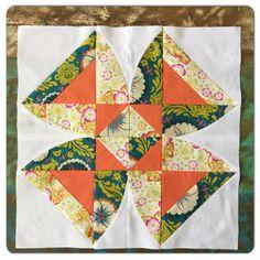 Sew Kind Of Wonderful: Twisted Blossom QAL