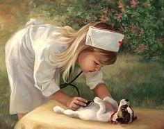 Nursing...Precious...