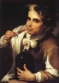 Artist, Bartolome Esteban Murillo, A Young Man Drinking - The National Gallery… Spanish Painters, Spanish Artists, Francisco Zurbaran, Esteban Murillo, Rich Kids Of Instagram, Art Gallery, Wine Art, Art Uk, Old Master