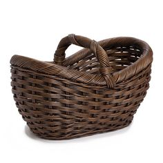 The Basket Lady Wicker Farmer's Market Basket