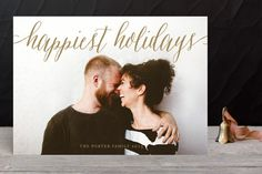 Pure Happy Holiday Photo Cards by Alston Wise at minted.com
