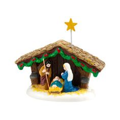 Snow Village Nativity - 4030755 $25.00