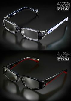 Star Wars Eyewear. This is the only thing that would ever make me want to wear glasses...