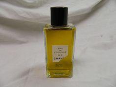VINTAGE CHANEL NO 5 EAU DE COLOGNE 4 OZ BOTTLE NEAR FULL NO BOX #Chanel