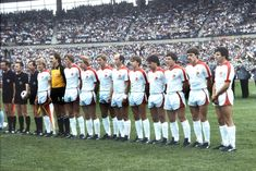 F. Düsseldorf 1 H. Berlin 0 in June 1979 in Hannover. The Fortuna Düsseldorf team line up before the German Polka Cup Final.