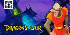 "Watch ""Dragon's Lair"" Video Game Film on Intense Cinema - ""Dragon's Lair"" is a fantasy adventure of a valiant knight, on a quest to rescue the fair princess from the clutches of an evil dragon."