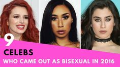 9 Celebrities Who Came Out As BISEXUAL In 2016! amandla is in here :)