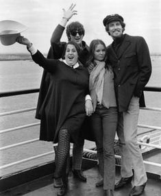 "the mamas and the papas.  Popular and iconic American vocal group of the 1960s.  Their signature sound was based on four-part male/female vocal harmonies arranged by John Phillips, the band's songwriter, who managed to ""leave the folk music behind"" and blend his writing with the new ""beat"" sound in an unprecedented mode."