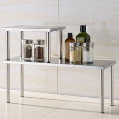 Stainless Steel Corner Shelf Kitchen Kitchen Organizer