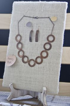 How to: make jewelry display pads | Embergrass Jewelry | Blog