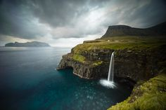 Picture of Mulafossur Waterfall, Faroe Islands