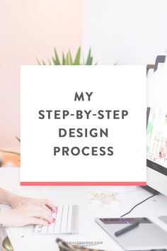 My step by step design process. From client homework to brand design to website design. By Nesha Designs