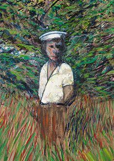 Francis Bacon, Figure in a Landscape (Miss Diana Watson), 1957